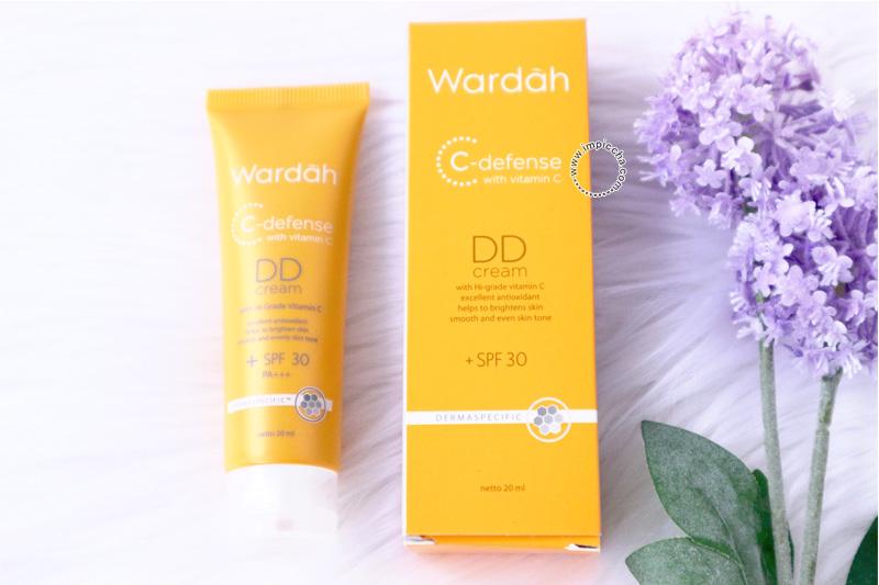 Review: Wardah C Defense DD Cream - Im Piccha