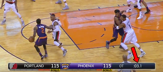 Phoenix and Portland Trade Clutch Shots in CRAZY Ending (VIDEO)