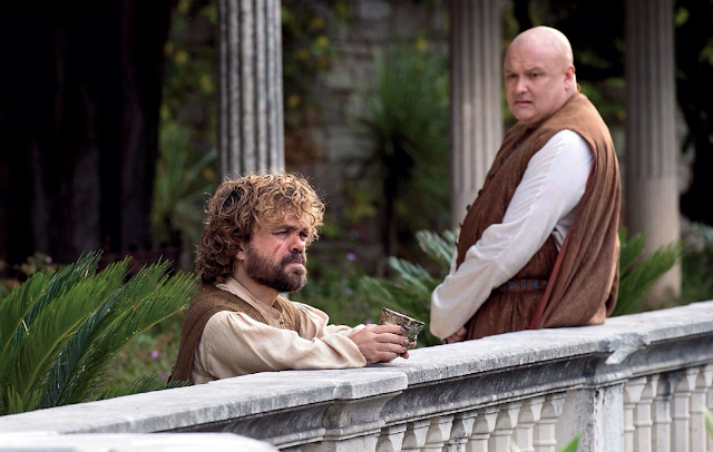 Game of Thrones - Varys and Tyrion Lannister