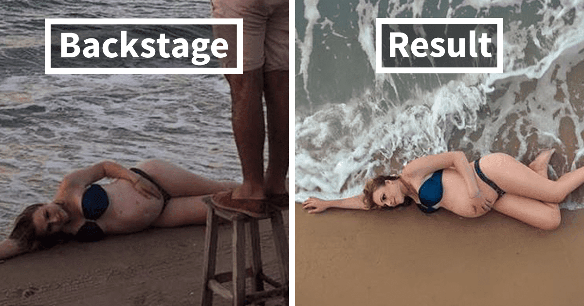 Impressive Before And After Pictures Reveal The Backstage Of Capturing 'The Perfect Photograph'