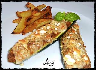 http://cucinaconlara.blogspot.it/2014/11/zucchine-ripiene-vegetariane.html