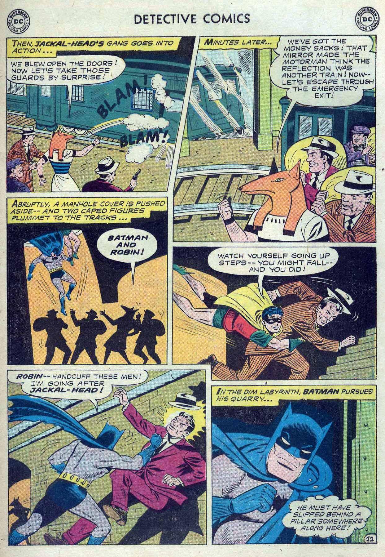 Read online Detective Comics (1937) comic -  Issue #262 - 13