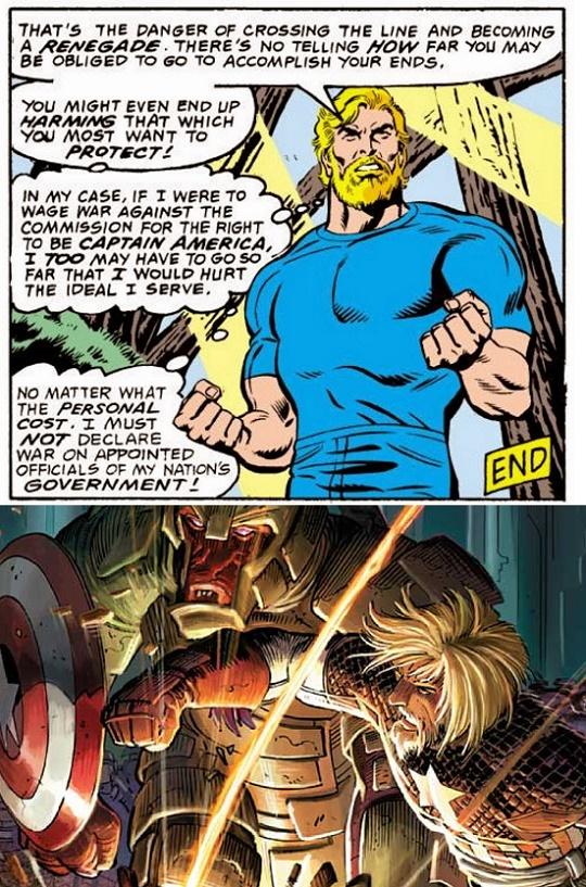 Confira as principais referncias aos quadrinhos encontradas em outra curiosidade tambm do visual de stever rogers no filme qeu seu uniforme tem algumas partes esburacadas e foi possivel perceber que no interior do fandeluxe Images