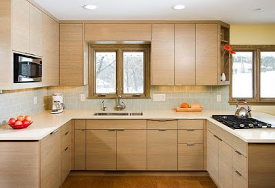 A kitchen is the heart of a house