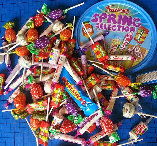 Swizzels Spring Selection Sweets Bucket contents