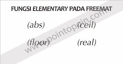 Fungsi Elementary Pada FreeMat