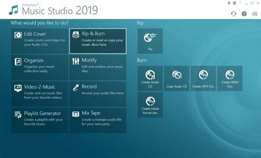 Ashampoo Music Studio 2019 Full Main Windows