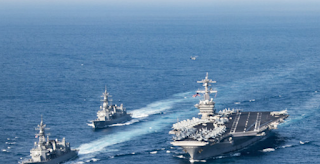 Korea Crisis Deepens As The US Dispatches The Carl Vinson Strike Group To The Region