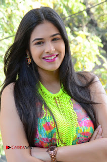 Telugu Actress Prasanna Stills in Short Dress at Inkenti Nuvve Cheppu Press Meet Stills  0009.JPG