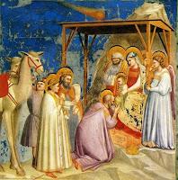 Giotto - Adoración de los Magos