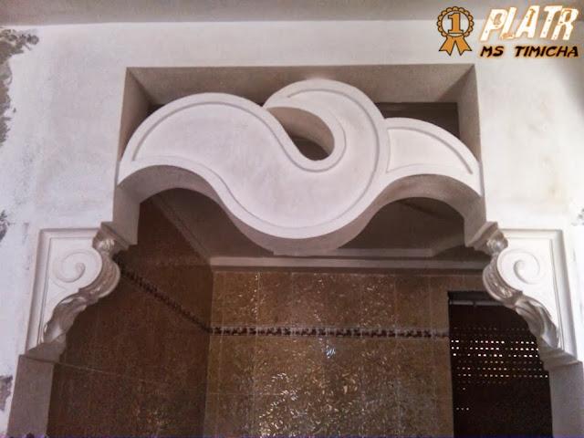 arc de plâtre   2014