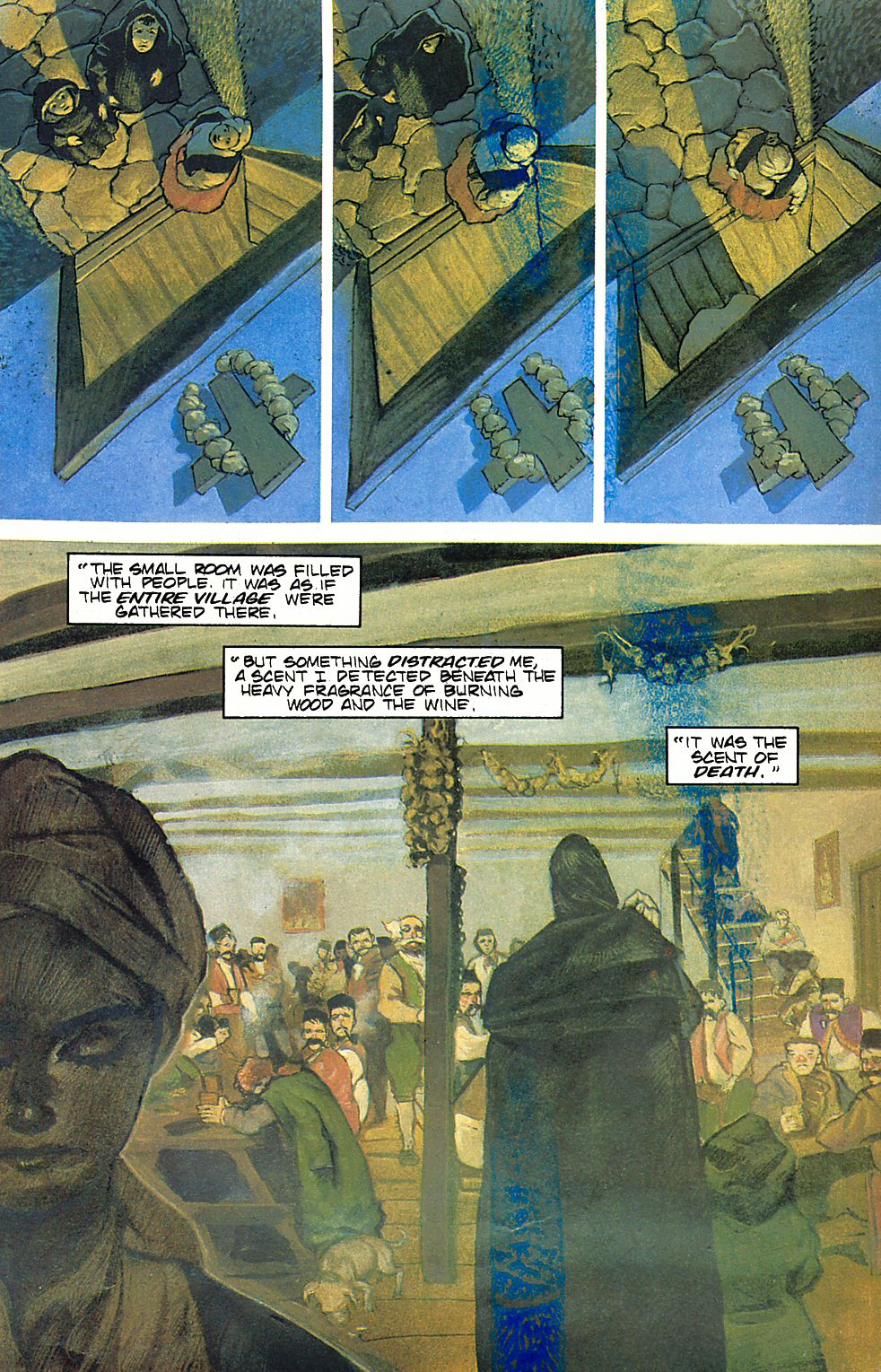 Read online Anne Rice's Interview with the Vampire comic -  Issue #6 - 23