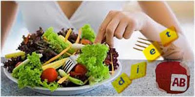 Cara Diet yang Sehat untuk Golongan Darah AB