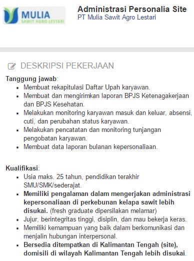Lowongan Kerja Kabupaten Lamandau Terbaru 2019