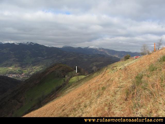 Pico Ranero: Llegando a La Canterona