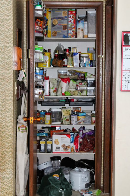 Why we have 3 BOXES of Kosher Salt. (OR Why you need an organized pantry!)