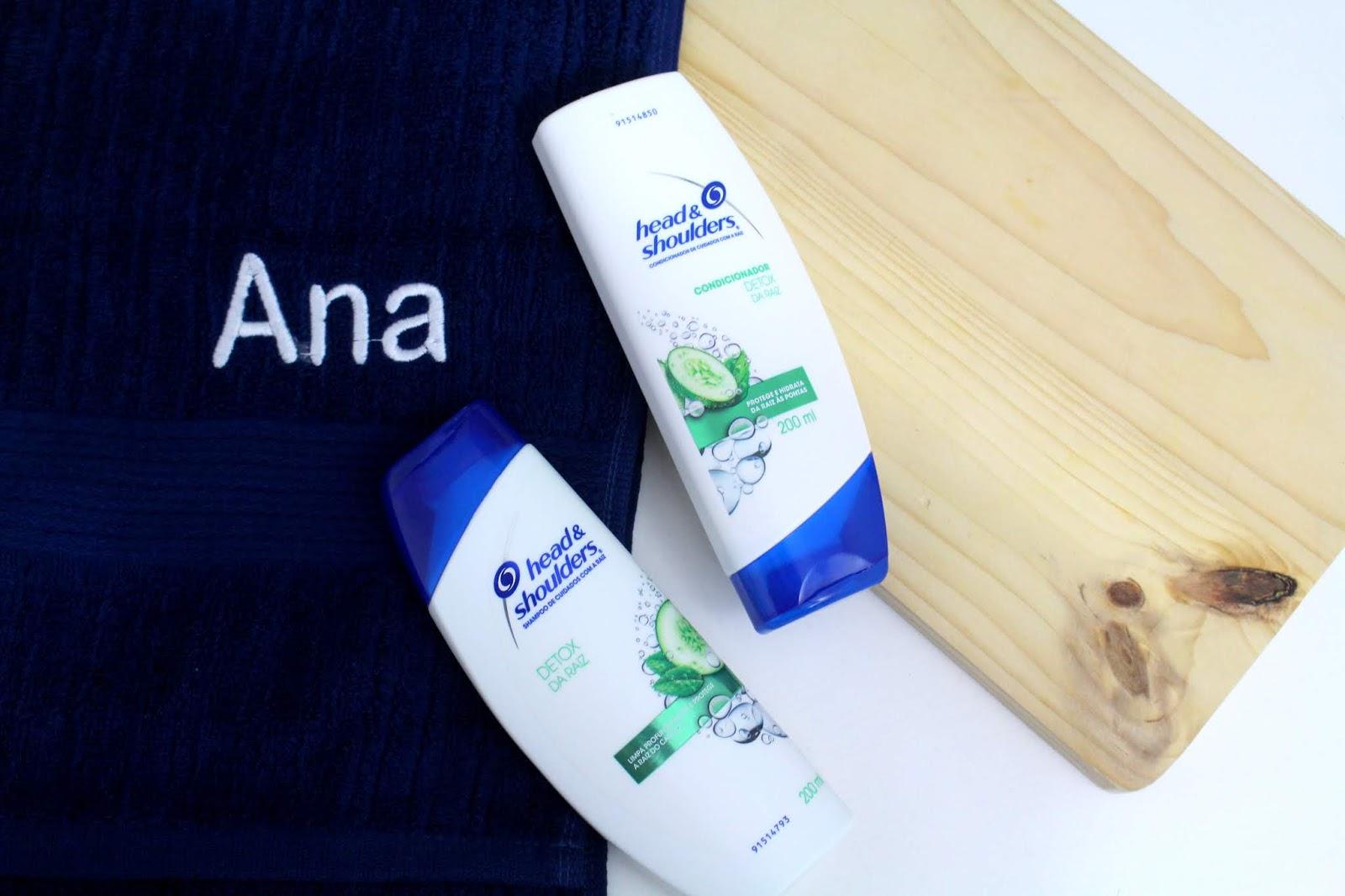 head & shoulders and detox da raiz ketchum pepino shampoo condiiconador tratamento capilar