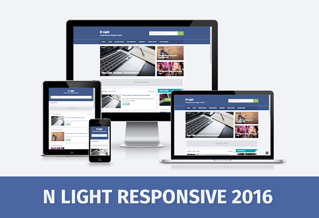 Download N Light Responsive And SEO Friendly Blogger Template by Anas Blogging Tips