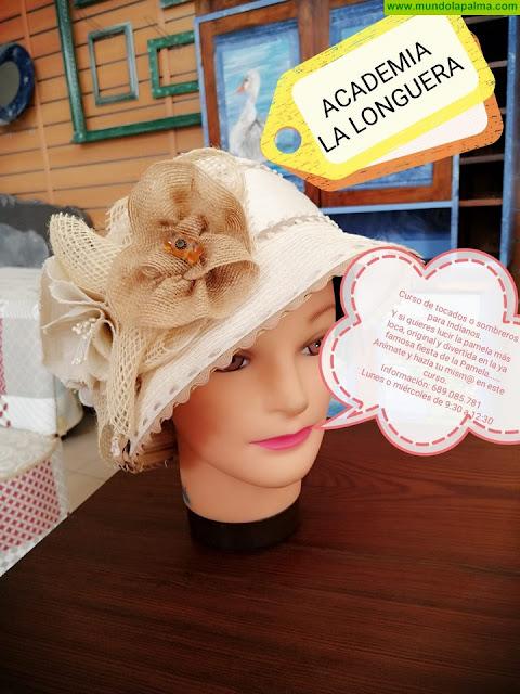 """LA LONGUERA: Curso de """"Tocados, Sombreros y Pamelas...."""""""