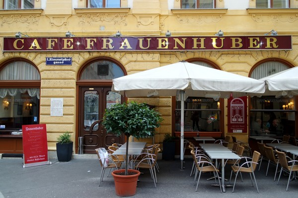 café traditionnel vienne frauenhuber