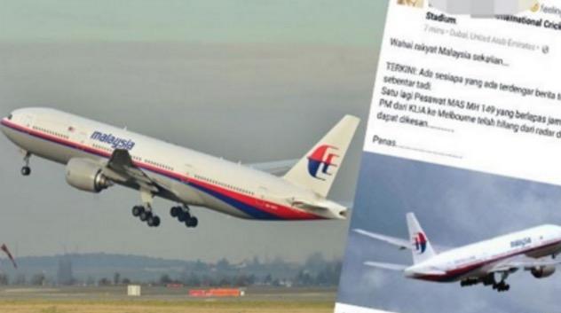 Padah Sebar Berita Pesawat MAS Hilang, Gadis Dikecam