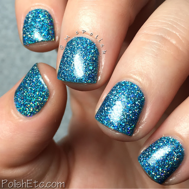 KBShimmer - Mega Flame Collection - McPolish - Set in Ocean