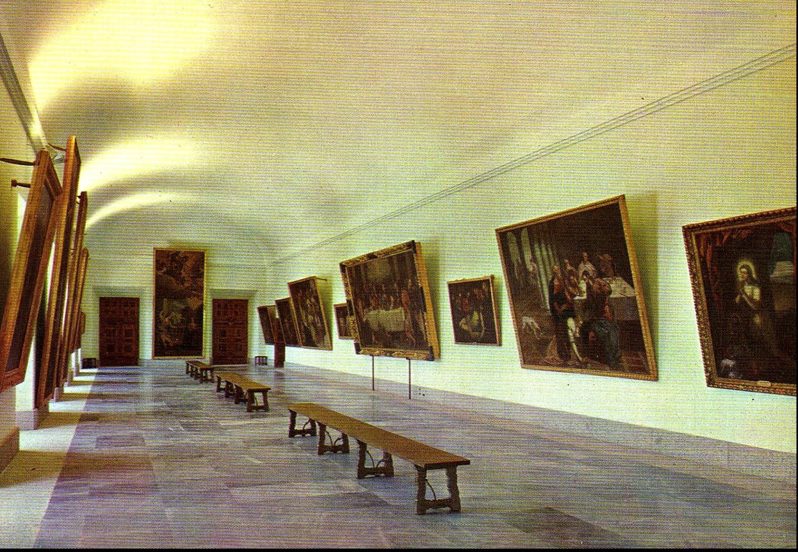 Ba L Del Arte El Real Monasterio De San Lorenzo De El Escorial # Muebles Tiziano Santa Cruz