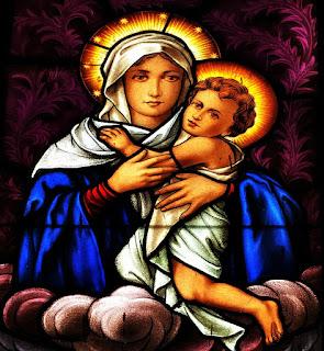 Nossa Senhora e O Menino - Igreja São João Batista, São João do Polêsine (RS)