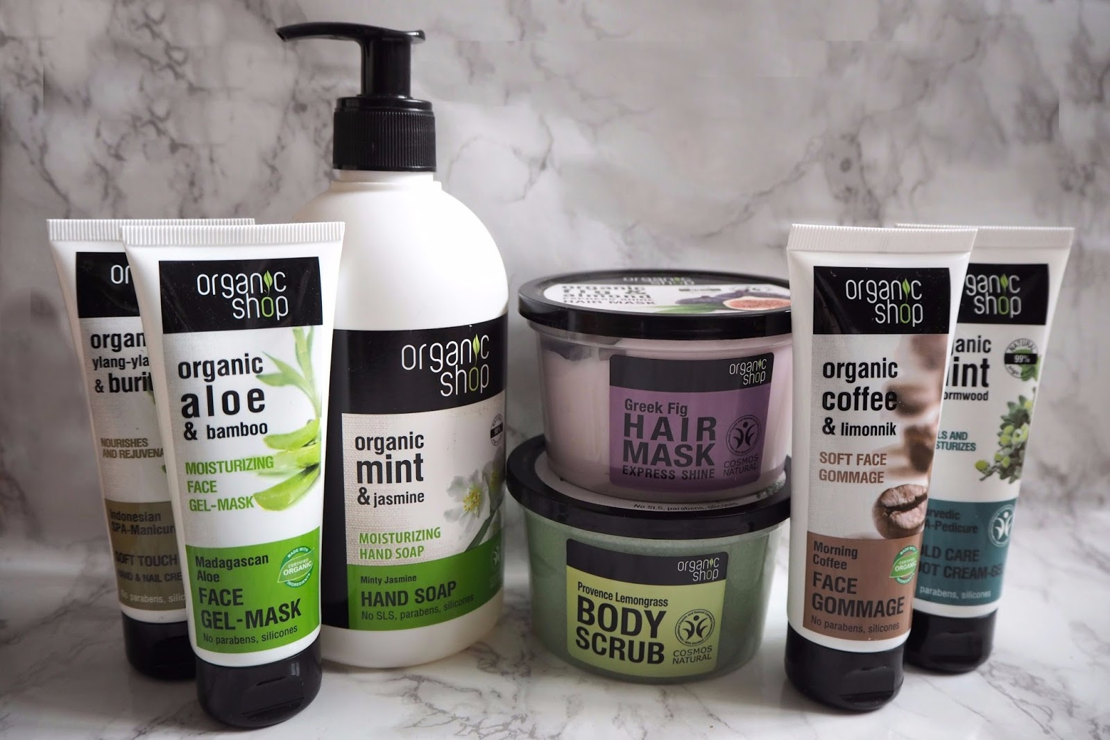 The Organic Shop Products