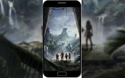 Jumanji Bienvenue dans la Jungle - Fond d'Écran en QHD pour Mobile