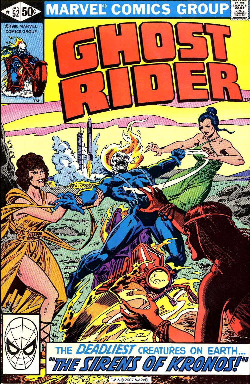Ghost Rider (1973) issue 52 - Page 1