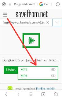 Download video facebook secara online