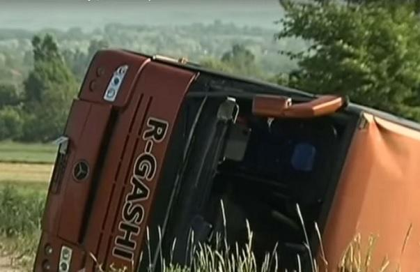 9 Kosovars injured in Serbia after their bus rolled on the road