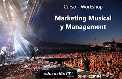 Inscribete AHORA!! Curso de Marketing Musical y Management