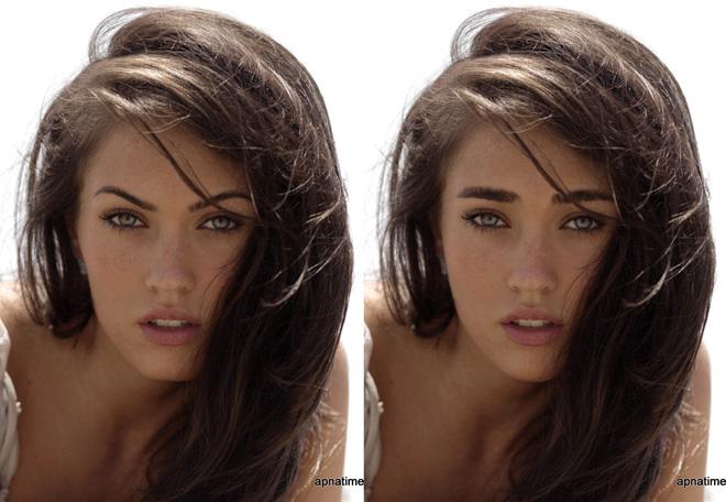 straight eyebrows...   allkpop Forums