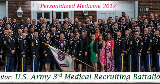 Exhibitor U.S. Army 3rd Medical Recruiting Battalion @Personalized Medicine 2017