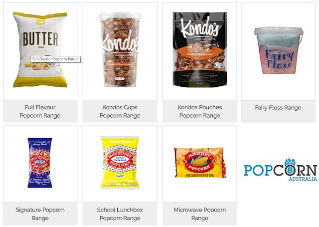 Healthy Popcorn Recipes - popcorn.com.au