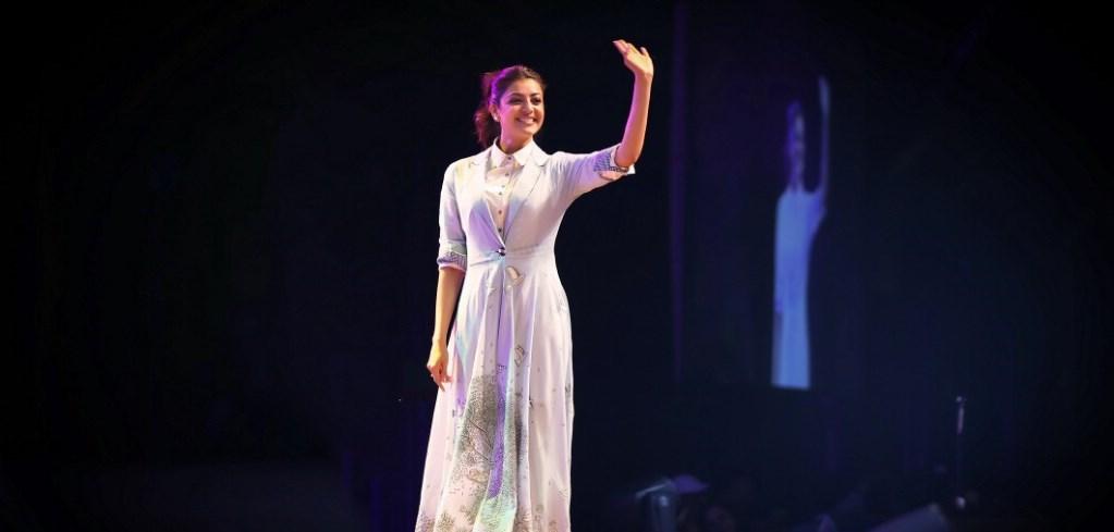 Tollywood Actress Kajal Aggarwal Photos At Tana Event 2017