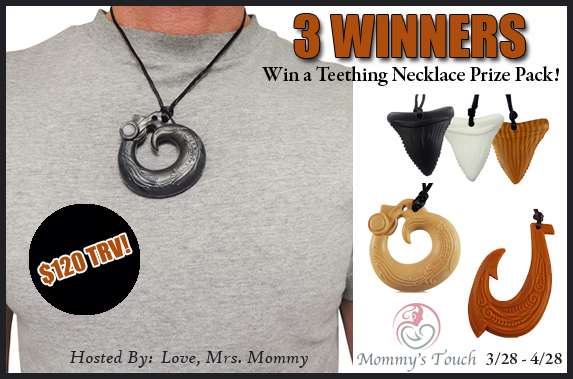 Mommy's Touch Teething Necklace Giveaway