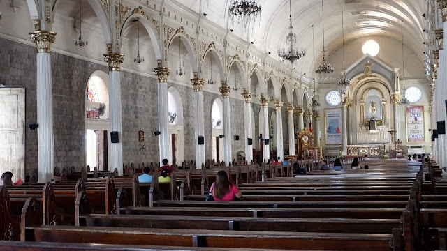inside bacolod cathedral