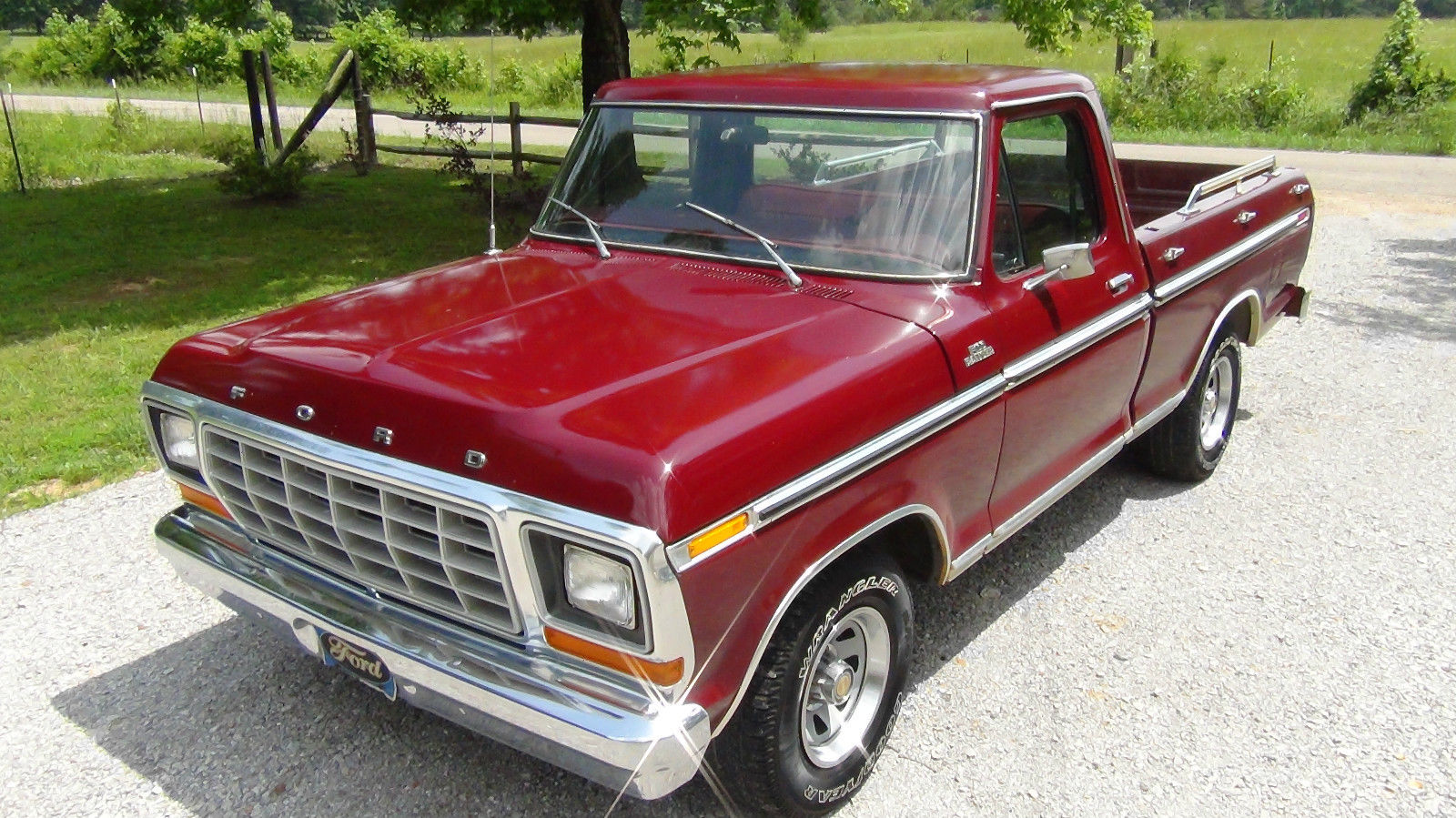 6 Door Ford Truck >> All American Classic Cars: 1979 Ford F100 Ranger Pickup Truck