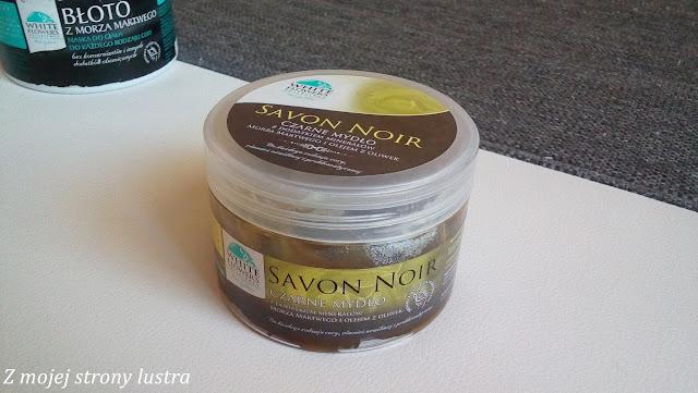 savon noir z minerałami z morza martwego