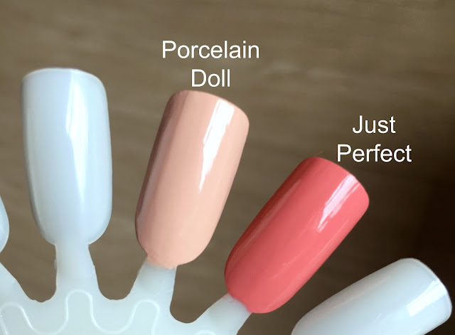 Leighton Denny Just Perfect and Porcelain Doll Swatch