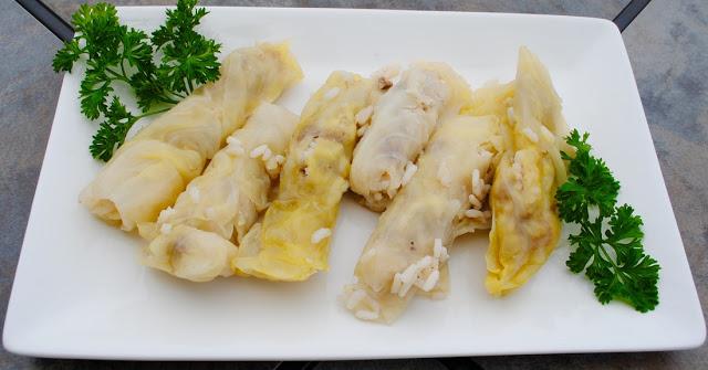 Mahshi Malfouf (Stuffed Cabbage) Recipe