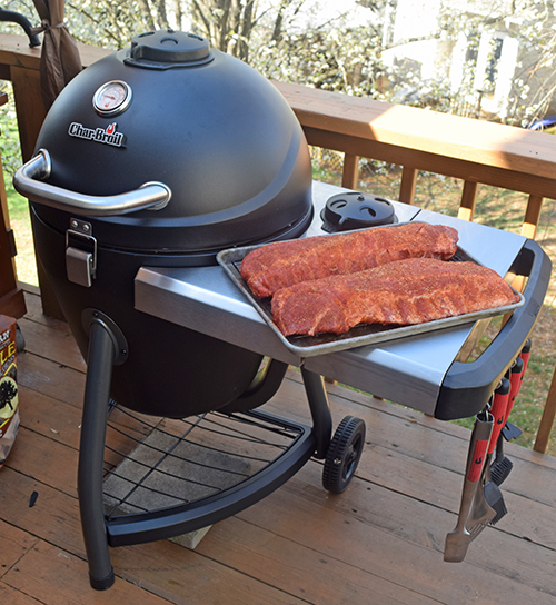 Char-Broil Kamander kamado grill review and recipes