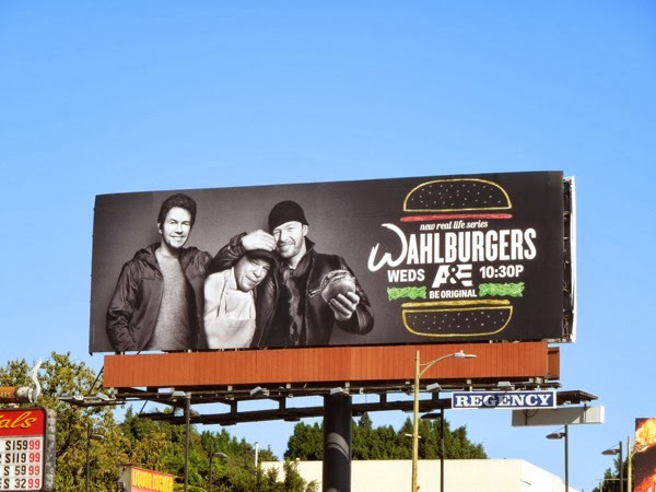Wahlburgers season 1 billboard