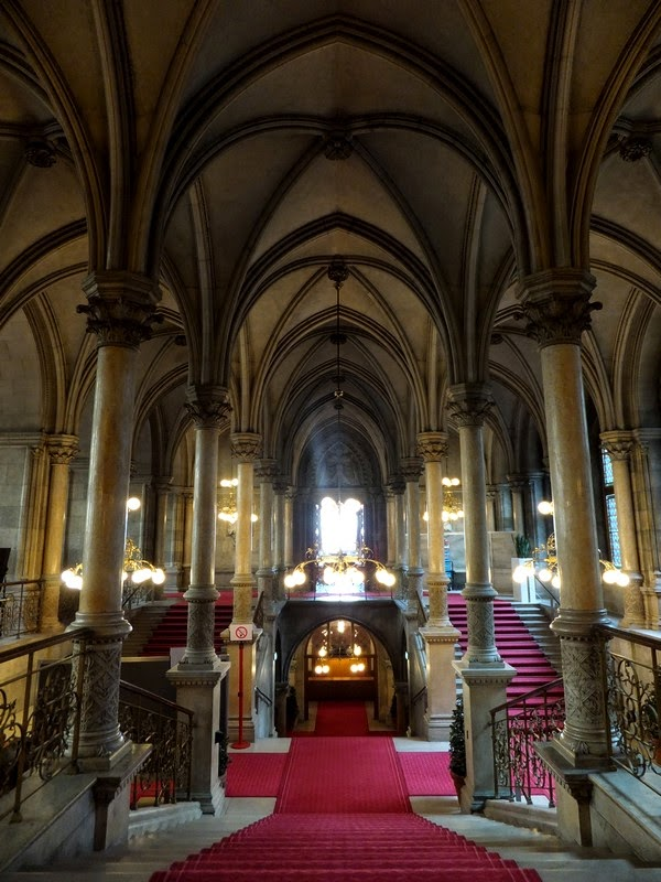 Vienne Wien gratuit rathaus hotel de ville