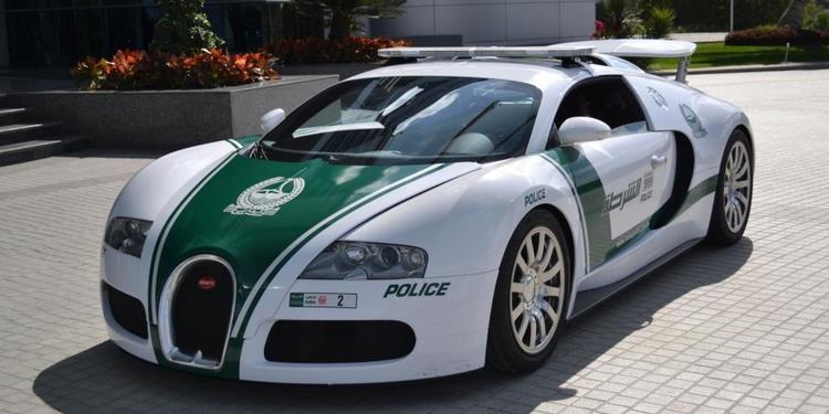 veyron Τα 10 ακριβότερα περιπολικά στο Ντουμπάι