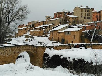 Torre de Arcas, nieve, nevado, nevat
