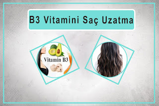 B3 Vitamini Saç Uzatma